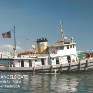 angels gate tugboat tug boat lamm los angeles maritime museum
