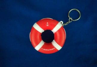 Red Life Ring Keychain