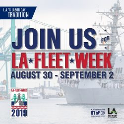 LA Fleet Week san pedro los angeles maritime museum
